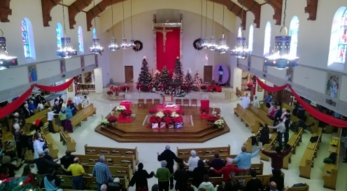 CK Church at Christmas